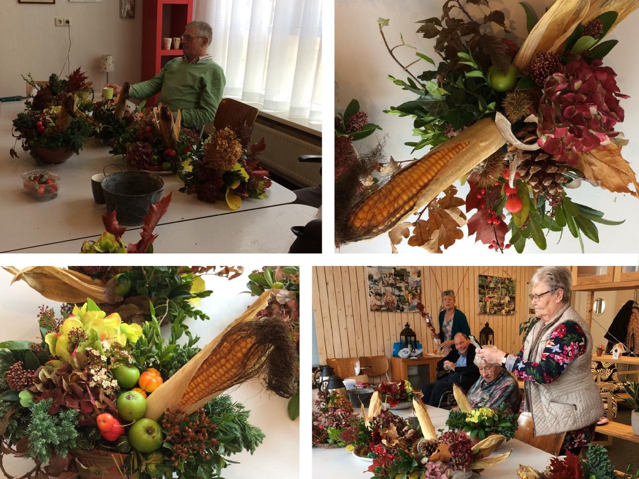 Anders Creatief collage - herfststukjes